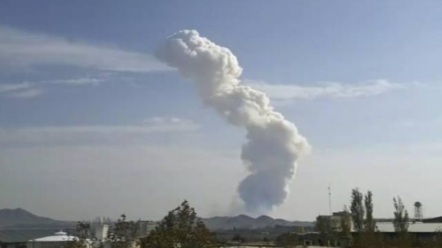Die Explosion war auch in Teheran spürbar