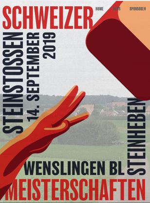 Schweizermeisterschaften Steinstossen / Steinheben
