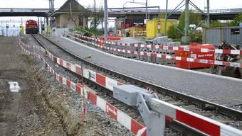 Der Rangierbahnhof in Muttenz wird modernisiert