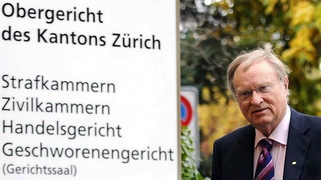 Ludwig A. Minelli erscheint vor Gericht