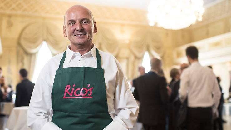 """Koch des Jahres 2017: Rico Zandanella. Er ist Gastgeber im """"Rico's"""" in Küsnacht ZH."""