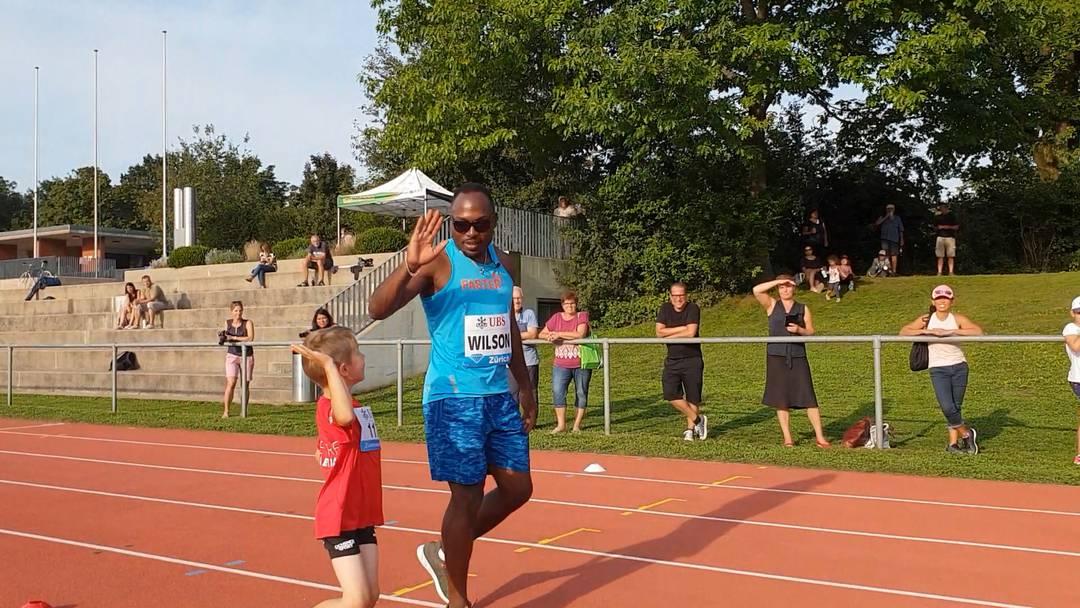120 Kinder trainieren mit Leichtathletik-Stars im Aarauer Schachen