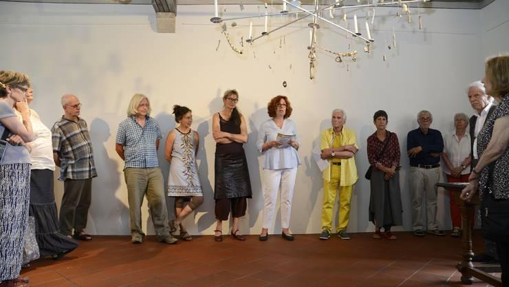 Vernissage zur Ausstellung «Tag X. Im Leben von Maria Ludovika von Roll» im Schlösschen Vorder-Bleichenberg