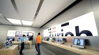 Goldgrube: Apple Shop in Zürich setzt jährlich fast 100 Millionen Franken um.