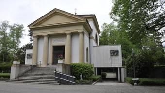 Eines der vielen schützenwerten Gebäude in Solothurn: Das Krematorium des Friedhofs St. Katharinen.