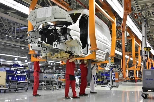 VW Nutzfahrzeug Werk Wrzesina