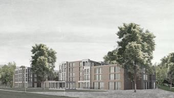 Im Baugesuch wird wohl auf das fünfte Stockwerk und rund zehn Wohnungen verzichtet.