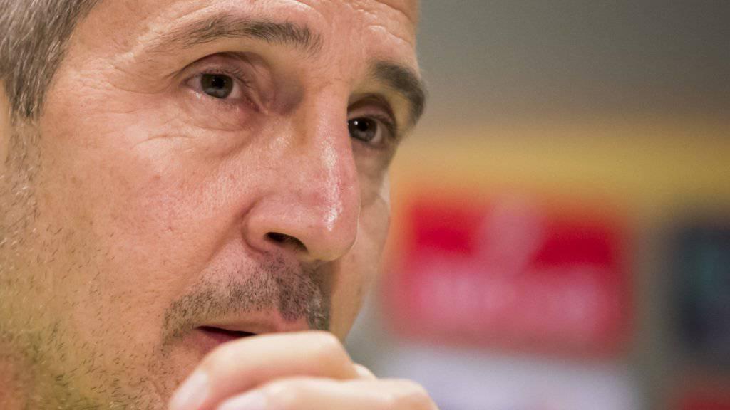 Trainer Adi Hütter relativiert das Remis gegen GC
