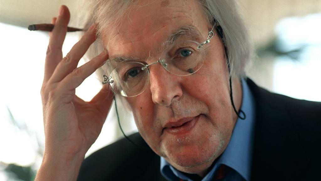 Starb im Alter von 81 Jahren: Der frühere Fernsehdirektor Peter Schellenberg. (Archivbild)