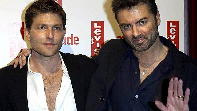 Kenny Goss (links) und George Michael (Archiv)