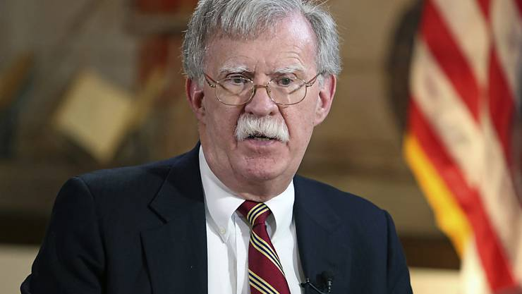 """John Bolton,  Nationaler Sicherheitsberater von US-Präsident Donald Trump, bezeichnet Venezuela, Kuba und Nicaragua in einer Rede als """"Troika der Tyrannei""""."""