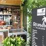 In der Strandbar bei der Badi Villnachern gibts regelmässig Konzerte. Claudio Thoma