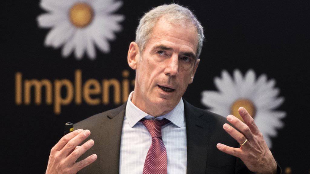 Implenia-Chef Anton Affentranger darf sich über Grossaufträge in der Westschweiz freuen. (Archiv)