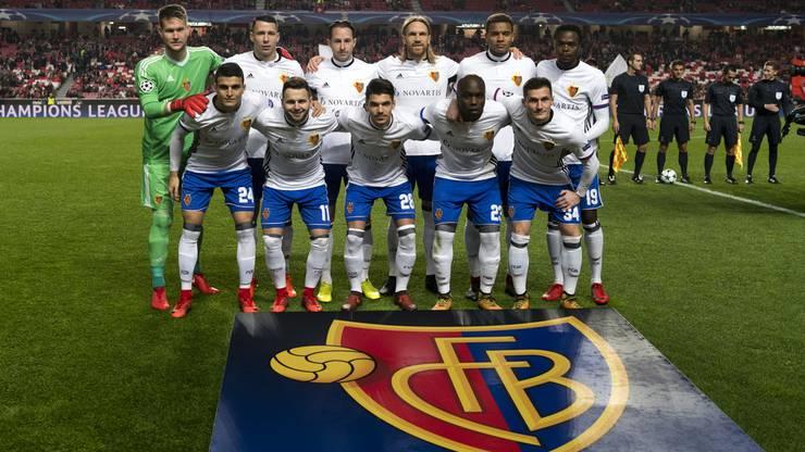 Mannschaftsbild vor dem Spiel