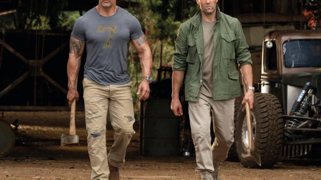 Der Actionfilm «Fast & Furious: Hobbs & Shaw» hat am Wochenende vom 1. bis 4. August 2019 in der Deutschschweiz die Spitze bei den Kinocharts übernommen. (Archiv)