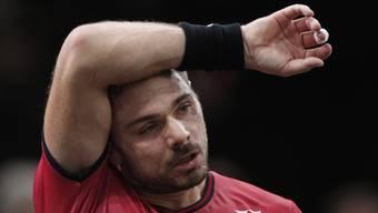 Keine Lösung gefunden: Stan Wawrinka verlor gegen Rafael Nadal vor allem die entscheidenden Punkte