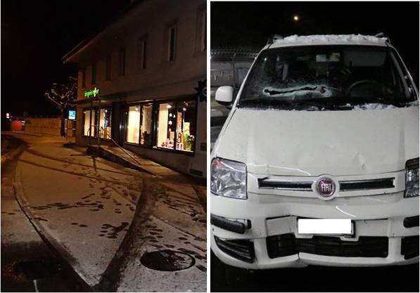 Die Kantonspolizei nahm dem Lenker den Führerausweis vorläufig ab.
