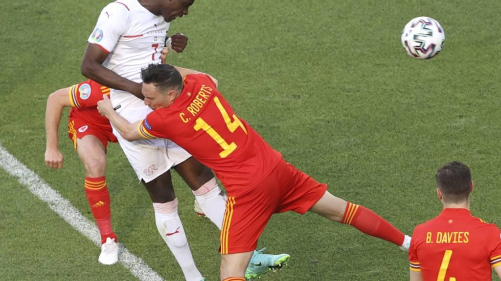 Schweizer geben zum EM-Auftakt gegen Wales den Sieg aus der Hand