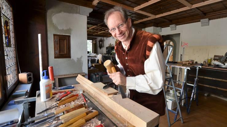 Schon als Kind träumte Ernst Köpfli davon, einmal in einem Schloss zu leben. In seinem Elternhaus, der Metzgerei Köpfli in Wohlen, verwirklicht er sich nun diesen Traum - buchstäblich in Handarbeit.