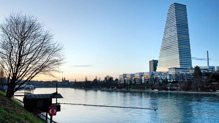 Roche – im Bild der Hauptsitz in Basel – steht vor der Übernahme von Spark.