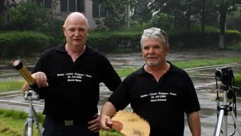 Daniel Meier (59) und Hans Schmid (63).