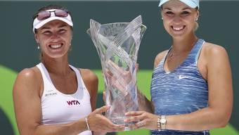 Hingis ist zurück: Sie gewinnt den ersten WTA-Titel seit 2007