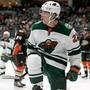 Matchwinner: Kevin Fiala feiert seinen entscheidenden Treffer im Spiel gegen die Anaheim Ducks.