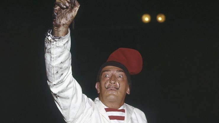 Hat seine letzte Ruhe wohl endgültig gefunden: der exzentrische spanische Maler Salvador Dalí (1904-1989). (Archivbild)