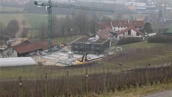 25 Millionen Franken investiert das Forschungsinstitut für biologischen Landbau (FiBL), um seinen Forschungs- und Bildungscampus in Frick auszubauen.Dennis Kalt