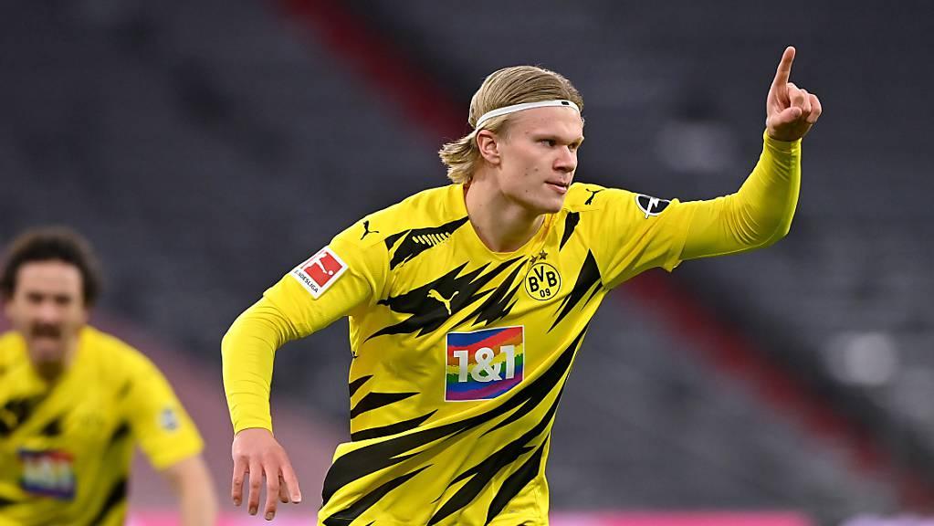 Dortmund hofft auch gegen Sevilla auf die Tore von Topskorer Erling Haaland