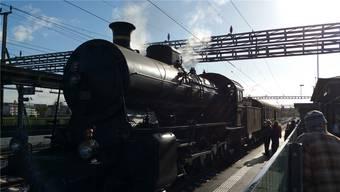 Die Lokomotive, bei der in Faido zuerst ein Lagerschaden hatte repariert werden müssen, gilt als Meilenstein in der Entwicklung der Dampflokomotive.