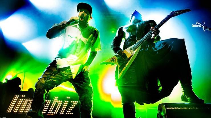 Limp Bizkit sind nächsten Freitag Headliner am Greenfield Festival in Interlaken. (zVg)