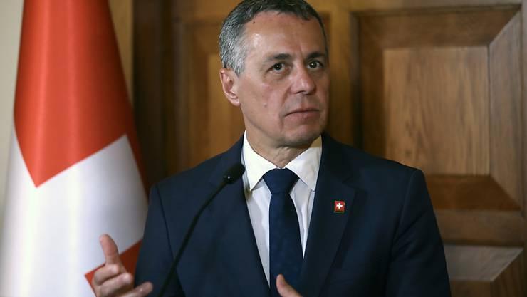 Aussenminister Ignazio Cassis.