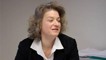 Die Erste Staatsanwältin Angela Weirich hat auch jetzt genug zu tun - einfach anderes.