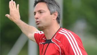 Wohlens Trainer David Sesa verliert mit seiner Mannschaft im Tessin