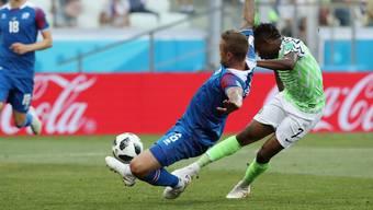 WM 2018: Impressionen zum Gruppenspiel Nigeria - Island