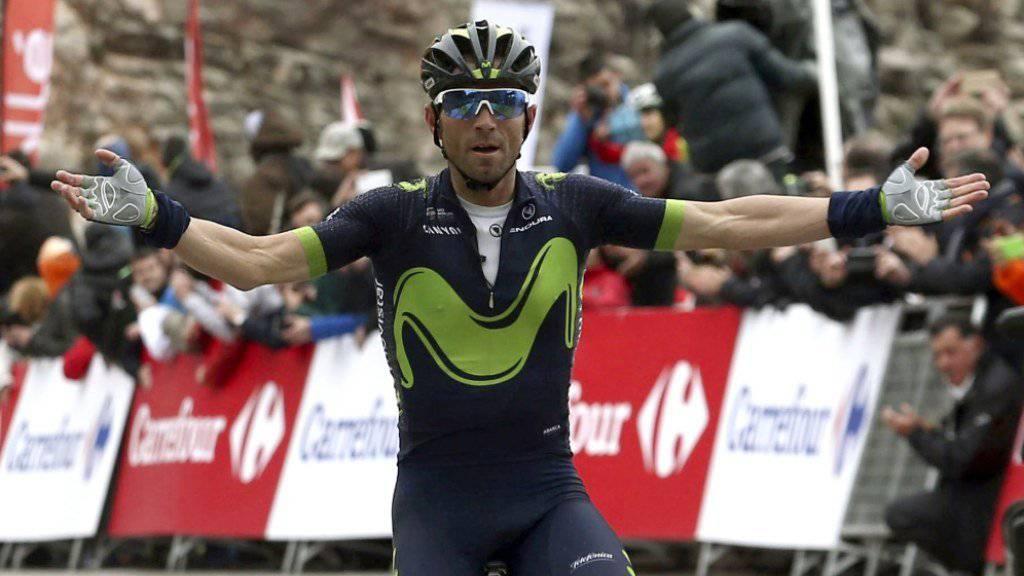 Alejandro Valverde gewinnt wie 2009 die Katalonien-Rundfahrt