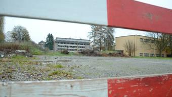Terrain der zukünftigen Skateranlage Zelgli in Schlieren.