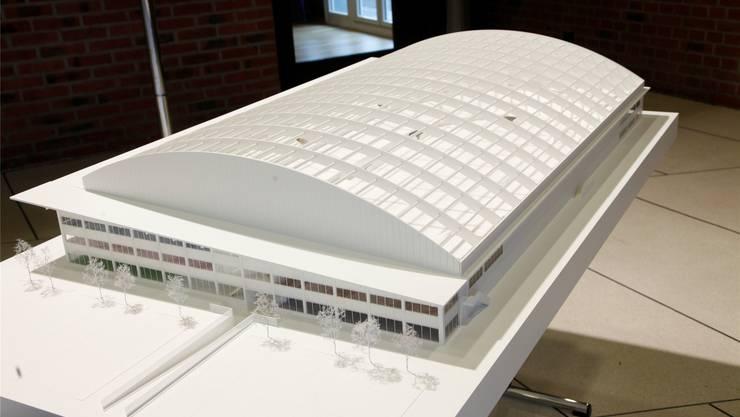 Der Bau des Velodromes Suisse rückt näher.