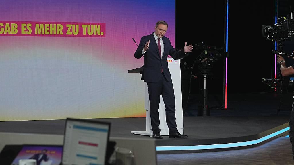 Lindner als deutscher FDP-Vorsitzender im Amt bestätigt