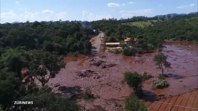 300 Menschen nach Dammbruch in Brasilien vermisst