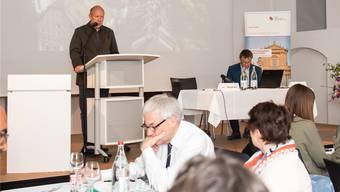 RSOT-Präsident Michael Hug (l.) und Tourismusdirektor Jürgen Hofer (r.) freuen sich über die aktuelle Entwicklung der Solothurner Hotellerie.