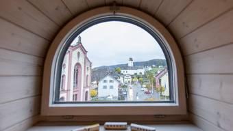 Besucherzentrum des Vereins Doppeltür in Lengnau
