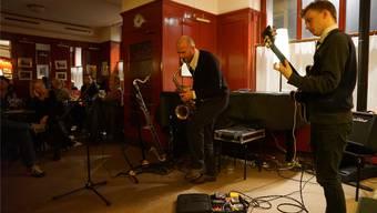 Marcel Lüscher am Saxofon war schon einige Male im «Isebähnli» zu Gast. Peter Hunziker