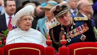 Dem Ehemann der Queen, Prinz Philip, gehts besser (Archiv)