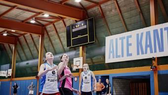 Erst mit einem Bein in der neuen Liga: Die Aufsteigerinnen des BC Alte Kanti Aarau blicken auf einen harzigen Start zurück.