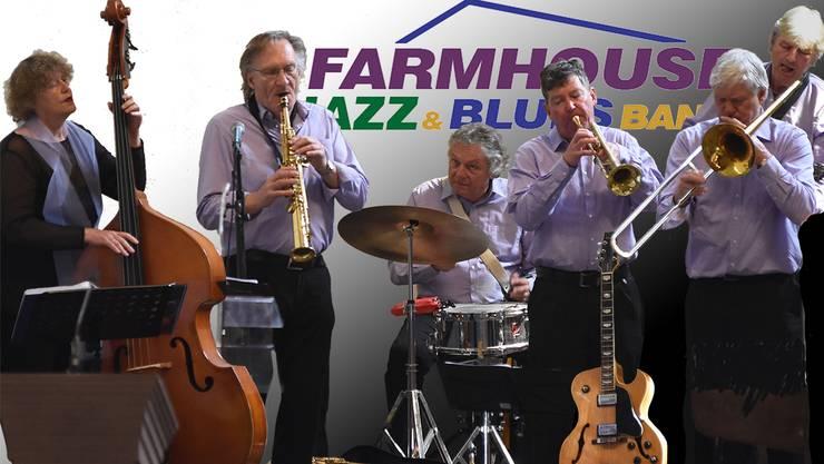 Die holländische Profiformation Farmhouse Jazzband wird am diesjährige Jazzbrunch spielen.