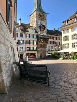 In der Solothurner Altstadt.
