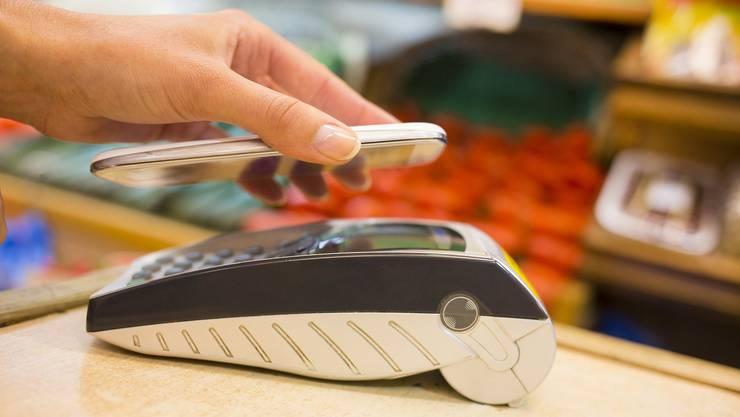 Mobile Payment ist während der Pandemie gefragt.