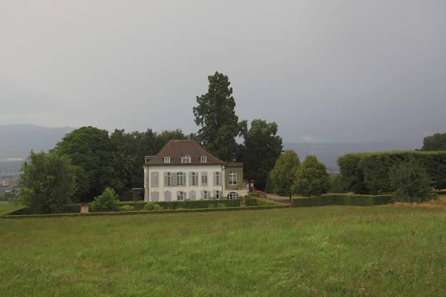 Beim Schlössli Vorderbleichenberg.